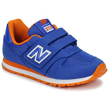 Cipők Gyerek Rövid szárú edzőcipők New Balance YV373 Kék