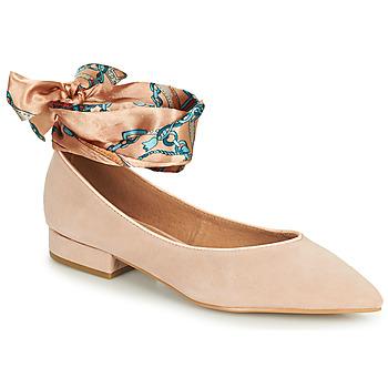 Cipők Női Balerina cipők  Karston KEBEC Rózsaszín