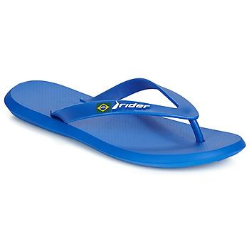 Cipők Férfi Lábujjközös papucsok Rider R1 Kék