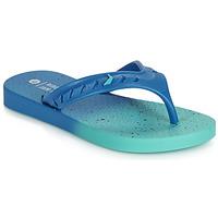 Cipők Gyerek Lábujjközös papucsok Rider JAM FLOW THONG KIDS Kék