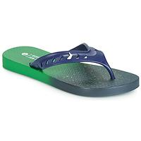 Cipők Gyerek Lábujjközös papucsok Rider JAM FLOW THONG KIDS Zöld / Kék