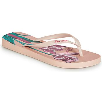 Cipők Női Lábujjközös papucsok Ipanema BOTANICALS Rózsaszín