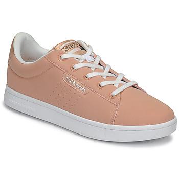 Cipők Lány Rövid szárú edzőcipők Kappa TCHOURI LACE Rózsaszín / Fehér