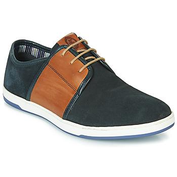 Cipők Férfi Rövid szárú edzőcipők Base London JIVE Kék / Teve