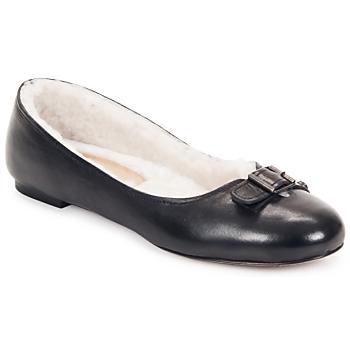 Cipők Női Balerina cipők / babák Keyté ASTOR Fekete