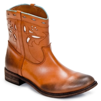 Cipők Női Csizmák Strategia PONCHO Barna