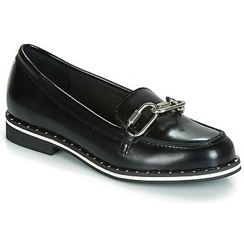 Cipők Női Mokkaszínek André MEKANO Fekete