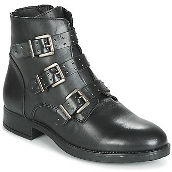 Cipők Női Csizmák André MATTHEW Fekete