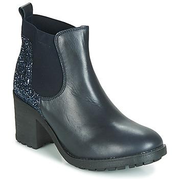 Cipők Női Csizmák André MARY Kék