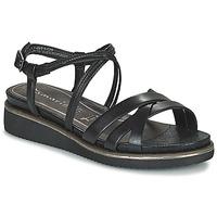Cipők Női Szandálok / Saruk Tamaris EDA Fekete