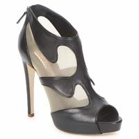 Cipők Női Bokacsizmák Rupert Sanderson ORBIT Fekete  / Bézs