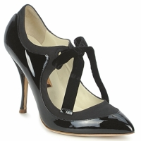 Cipők Női Félcipők Rupert Sanderson BLAZE Fekete