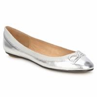 Cipők Női Balerina cipők / babák Buffalo BABY BILL Ezüst