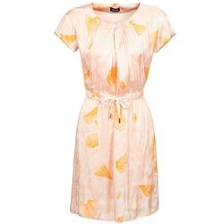 Ruhák Női Rövid ruhák Kookaï VOULATE Rózsaszín / Citromsárga