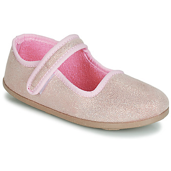 Cipők Lány Balerina cipők / babák André VIOLINE Rózsaszín