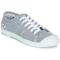 Cipők Női Rövid szárú edzőcipők Le Temps des Cerises BASIC 02 Kék / Fehér