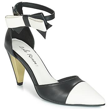 Cipők Női Szandálok / Saruk Lola Ramona RAMONA Fekete  / Fehér