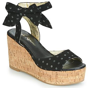 Cipők Női Szandálok / Saruk Lola Ramona NINA Fekete