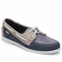 Cipők Férfi Vitorlás cipők Sebago SPINNAKER Sötétkék / Fehér / Kék