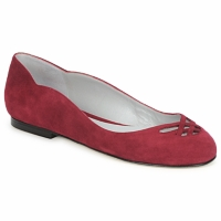 Cipők Női Balerina cipők / babák Fred Marzo MOMONE FLAT Bordó