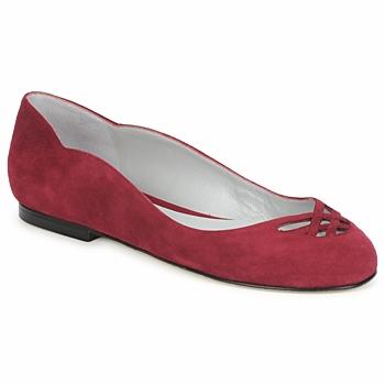 Cipők Női Balerina cipők  Fred Marzo MOMONE FLAT Bordó