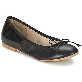 Cipők Női Balerina cipők / babák Betty London MANDOLI Fekete
