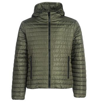 Ruhák Férfi Steppelt kabátok Geox TIRPIRUNE Keki