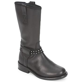 Cipők Lány Csizmák Hip GRABI Fekete