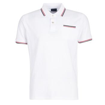Ruhák Férfi Rövid ujjú galléros pólók Gant COL TIPPING PIQUE Fehér