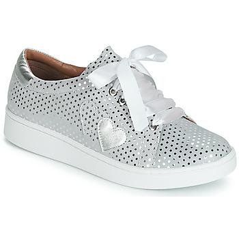 Cipők Női Rövid szárú edzőcipők Cristofoli ARE Ezüst