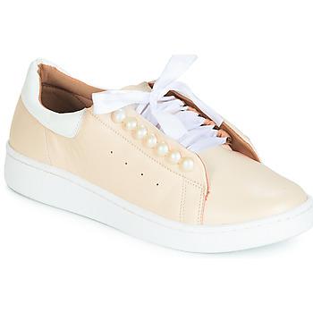 Cipők Női Rövid szárú edzőcipők Cristofoli HOULI Bézs