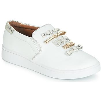 Cipők Női Belebújós cipők Cristofoli JOLA Fehér