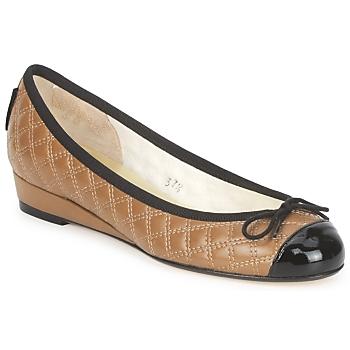 Cipők Női Balerina cipők / babák French Sole HENRIETTA Tópszínű