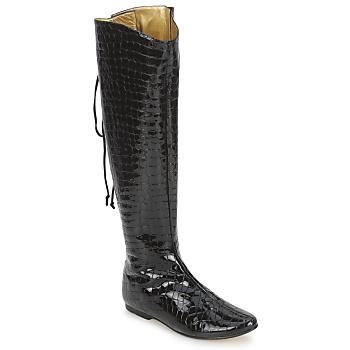 Cipők Női Városi csizmák French Sole PRINCE Fekete
