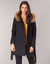 Ruhák Női Kabátok Betty London JORREY Fekete