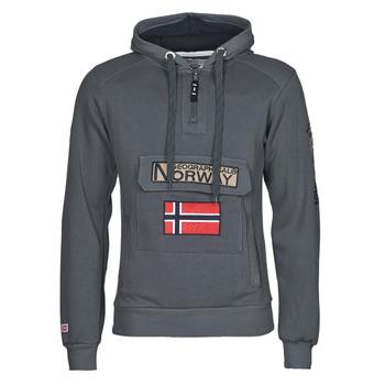 Ruhák Férfi Pulóverek Geographical Norway GYMCLASS Szürke