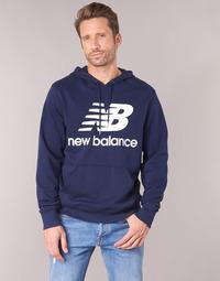 Ruhák Férfi Pulóverek New Balance NB SWEATSHIRT Tengerész