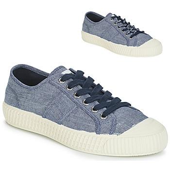 Cipők Női Rövid szárú edzőcipők Pepe jeans ING LOW Kék 398228aafd
