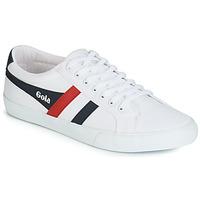 Cipők Férfi Rövid szárú edzőcipők Gola VARSITY Fehér