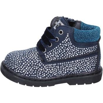 Cipők Lány Bokacsizmák Asso BT297 Kék