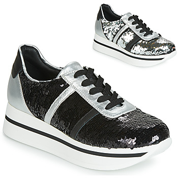 Cipők Női Rövid szárú edzőcipők Tosca Blu ANDREA Fekete
