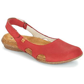 Cipők Női Szandálok / Saruk El Naturalista WAKATAUA Piros