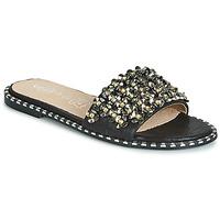 Cipők Női Papucsok Cassis Côte d'Azur ALVINA Fekete