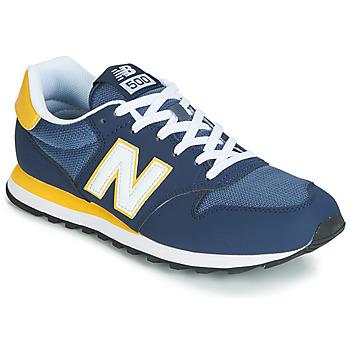 Cipők Férfi Rövid szárú edzőcipők New Balance GM500 Kék
