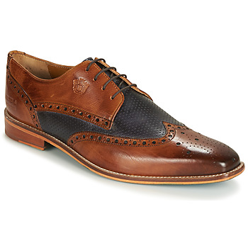 Cipők Férfi Oxford cipők Melvin & Hamilton MARTIN 16 Barna / Kék