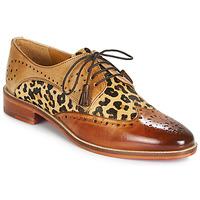 Cipők Női Oxford cipők Melvin & Hamilton BETTY-4 Barna / Leopárd