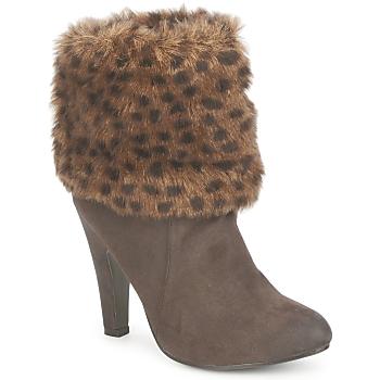 Cipők Női Bokacsizmák StylistClick JOYCE Barna