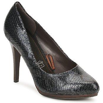 Cipők Női Félcipők StylistClick PALOMA Fekete  / Piton