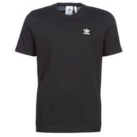 Ruhák Férfi Rövid ujjú pólók adidas Originals ESSENTIAL T Fekete