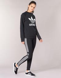 Ruhák Női Legging-ek adidas Originals TREFOIL TIGHT Fekete